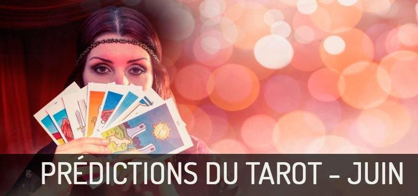 Découvrez les prédictions du Tarot pour Juin 2018 !