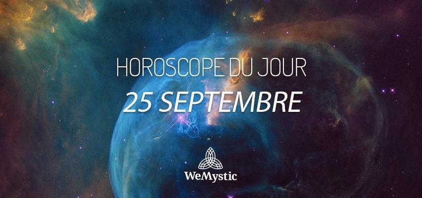 Horoscope du Jour du 25 septembre 2018