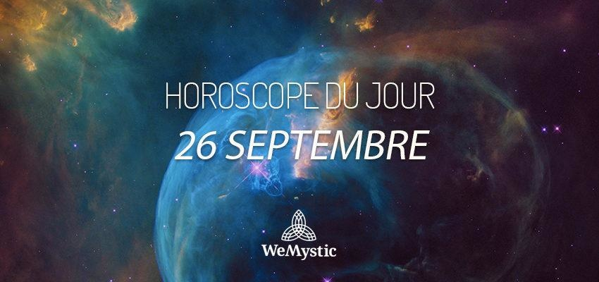 Horoscope du Jour du 26 septembre 2018