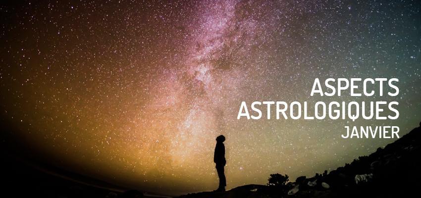 Découvrez les principaux aspects astrologiques du mois de janvier 2019