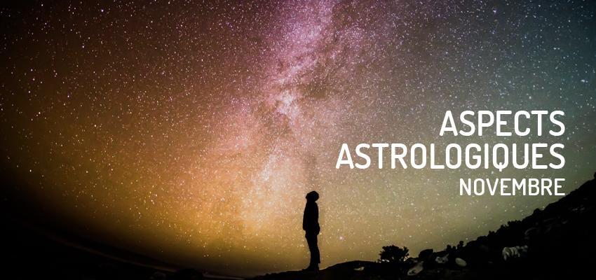 Découvrez les principaux aspects astrologiques du mois de novembre 2019