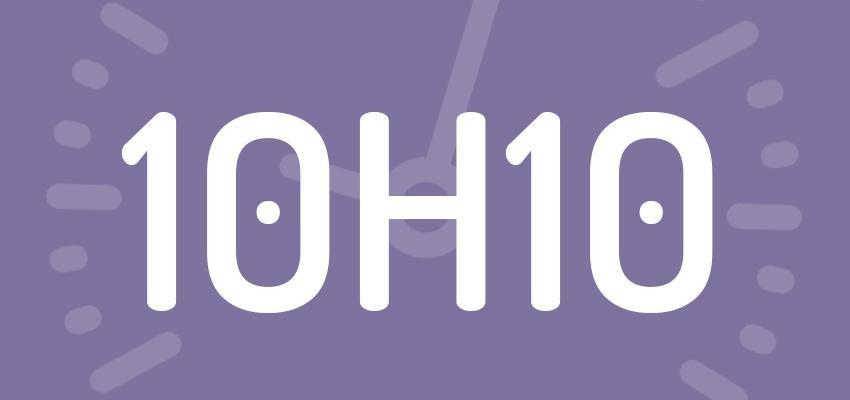 Significations et prévisions de l'heure miroir 10h10