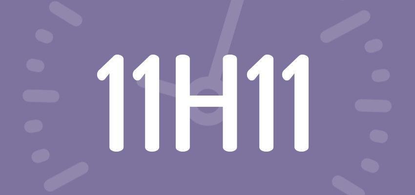 Significations et prévisions de l'heure miroir 11h11
