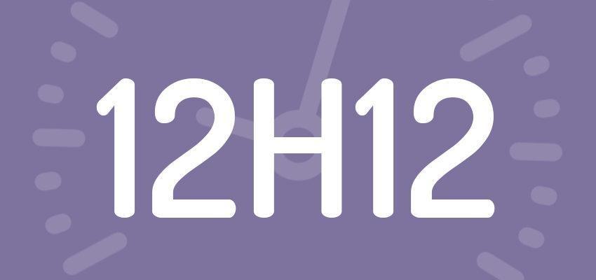 Significations et prévisions de l'heure miroir 12h12