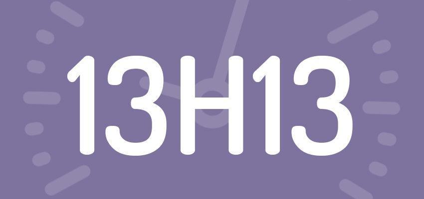Significations et prévisions de l'heure miroir 13h13