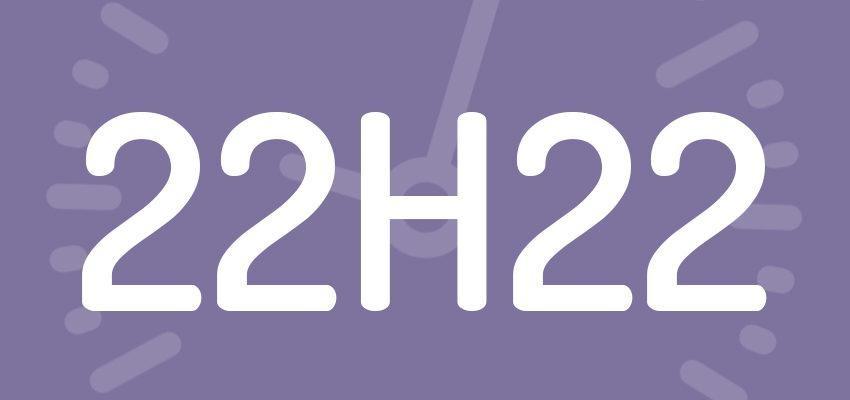 Significations et prévisions de l'heure miroir 22h22