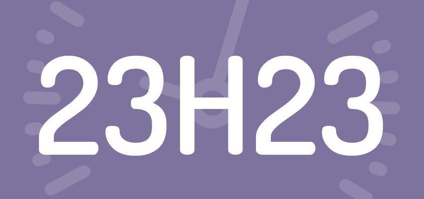 Significations et prévisions de l'heure miroir 23h23