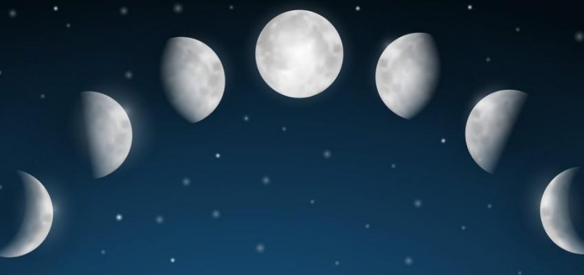 Comment distinguer le premier et le dernier quartier de la lune?