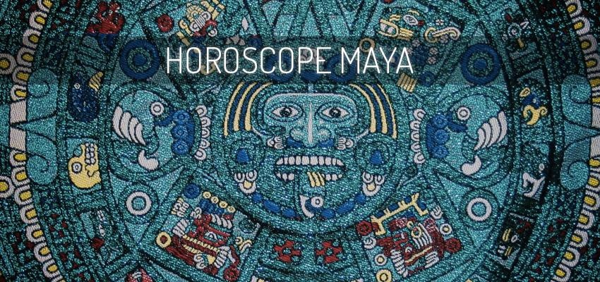 Les signes de l'horoscope Maya