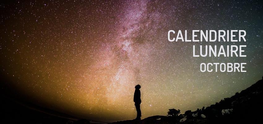 Calendrier lunaire d'octobre 2019 : Amour et spiritualité