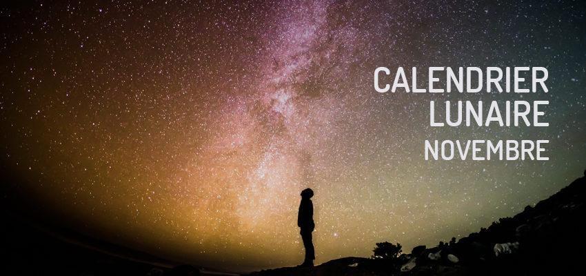 Calendrier lunaire de novembre 2019 : attention à votre santé !