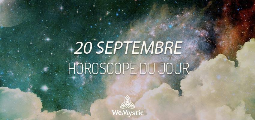 Horoscope du Jour du 20 septembre 2019