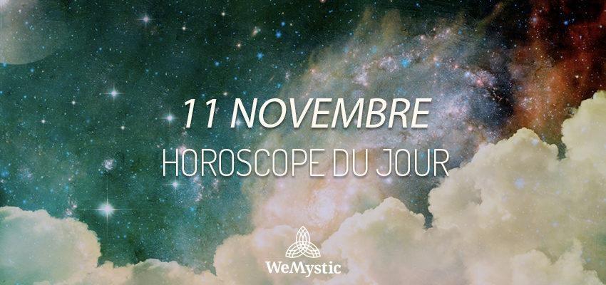 Horoscope du Jour du 11 novembre 2019