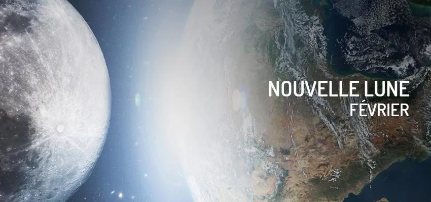 La date de la nouvelle lune de février 2020