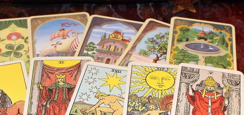 Les cartes Non du Tarot Oui ou Non