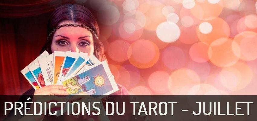 Découvrez les  prédictions du Tarot pour juillet 2018 !