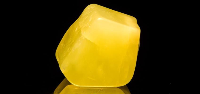 La pierre jade jaune et ses propriétés