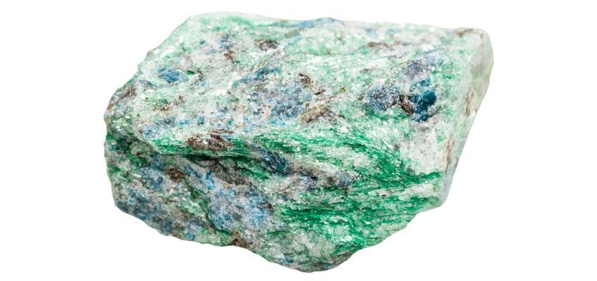 La pierre fuschite verte et ses propriétés