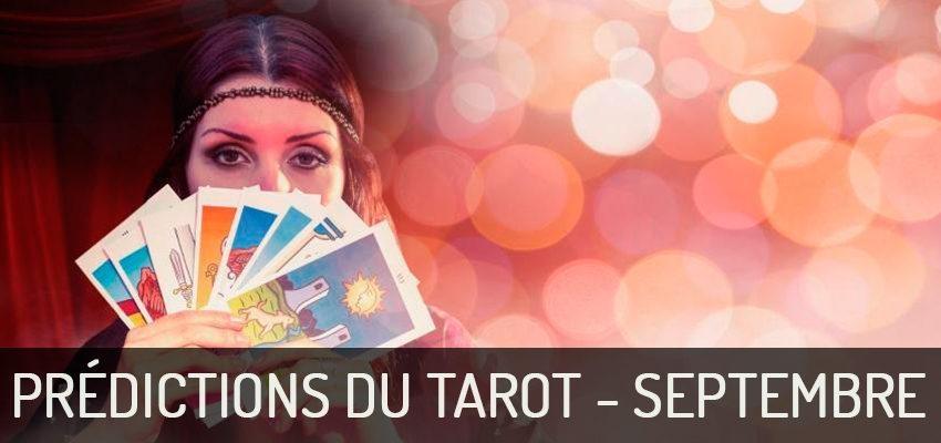 Découvrez les prédictions du Tarot du mois de septembre 2018 !