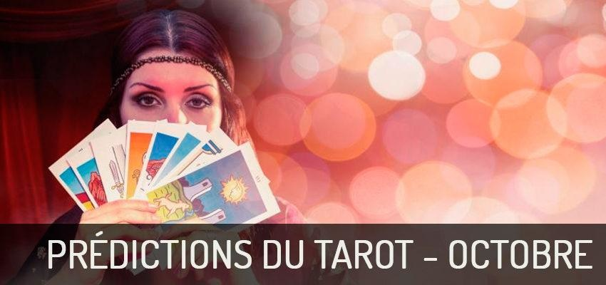 Découvrez les prédictions du Tarot pour octobre 2018 !