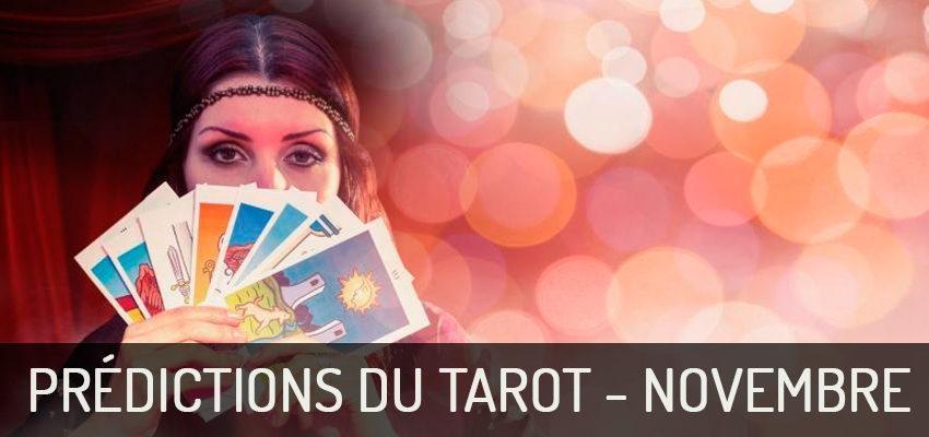 Découvrez les prédictions du Tarot pour novembre 2018 !