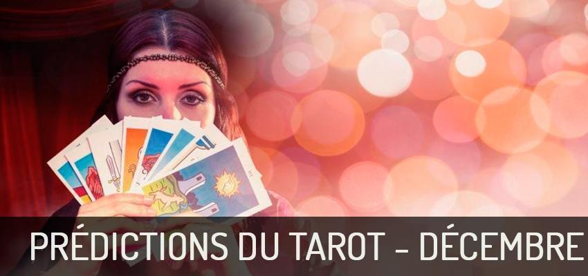 Découvrez les prédictions du Tarot pour décembre 2018 !