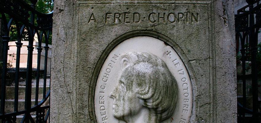 L'histoire de la tombe de Frédéric Chopin au Père Lachaise