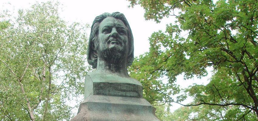 La tombe d'Honoré de Balzac au Père Lachaise
