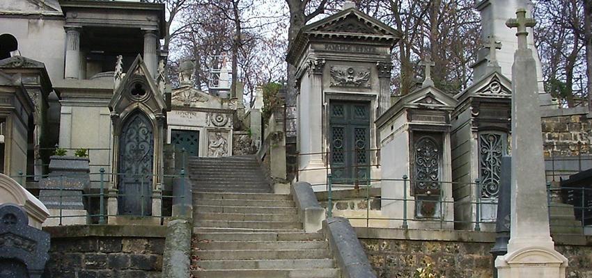 Le cimetière de Paris : le Père Lachaise