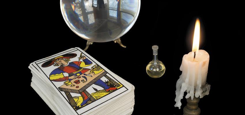 Association entre les cartes du tarot divinatoire de Marseille (XIV à XXI)