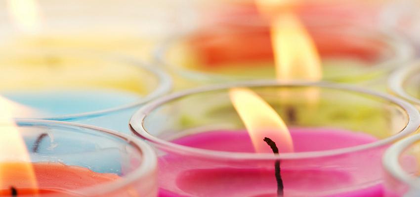 Bougie – couleurs et vertus