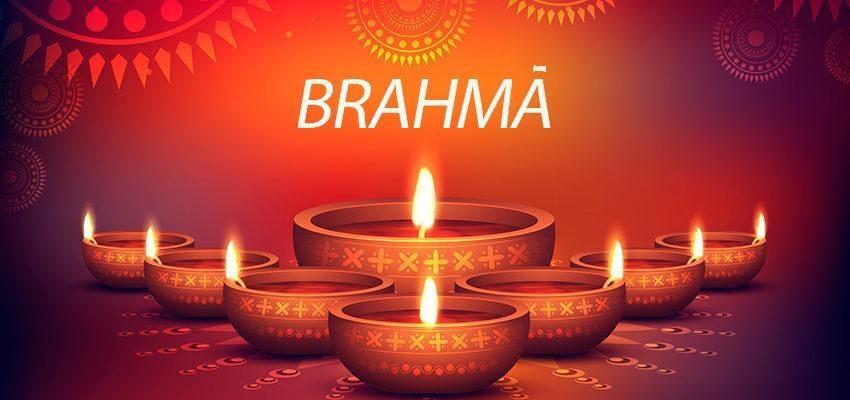 Brahmā, dieu créateur à quatre têtes