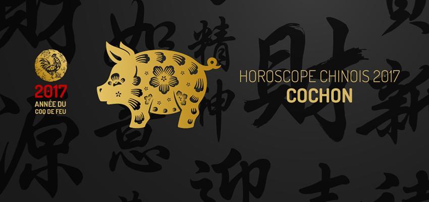 Horoscope chinois: le signe du Cochon en 2017