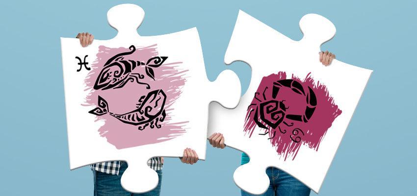La compatibilité amoureuse entre femme Cancer et homme Poissons