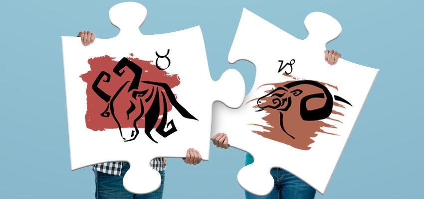 La compatibilité amoureuse femme Capricorne et homme Taureau