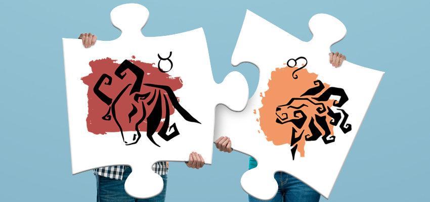 La compatibilité amoureuse entre femme Lion et homme Taureau