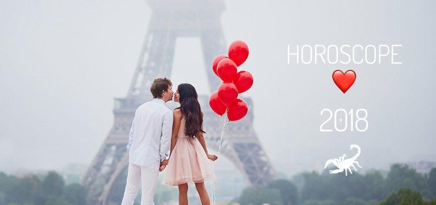 L'horoscope de l'amour pour 2018 Scorpion