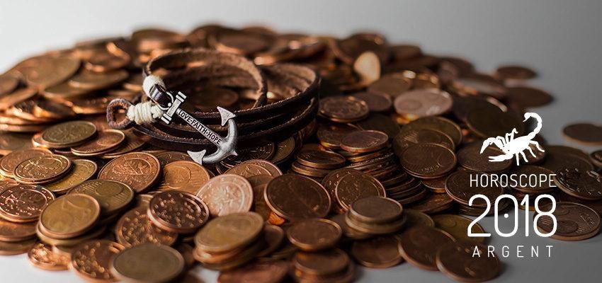L'horoscope de l'argent pour 2018 Scorpion