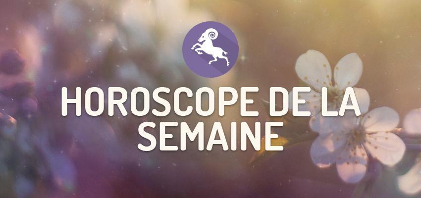 L'horoscope de la Semaine pour Bélier