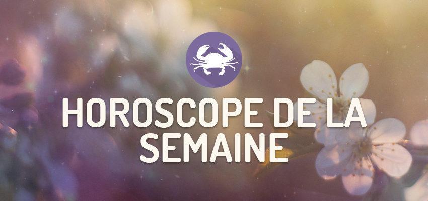 L'horoscope de la Semaine pour Cancer