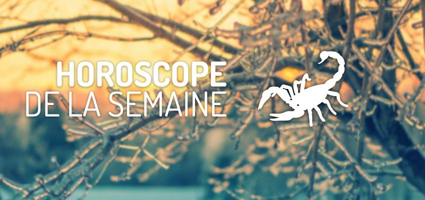 Horoscope de la Semaine - Scorpion
