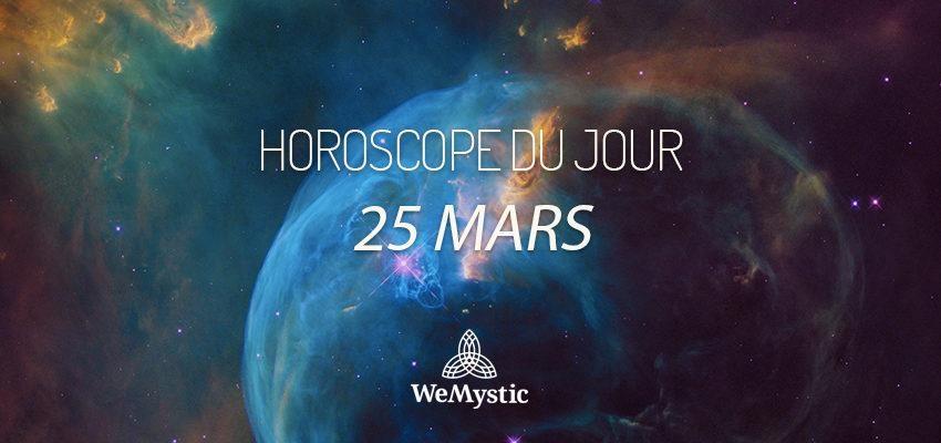 Horoscope du Jour du 25 mars 2018