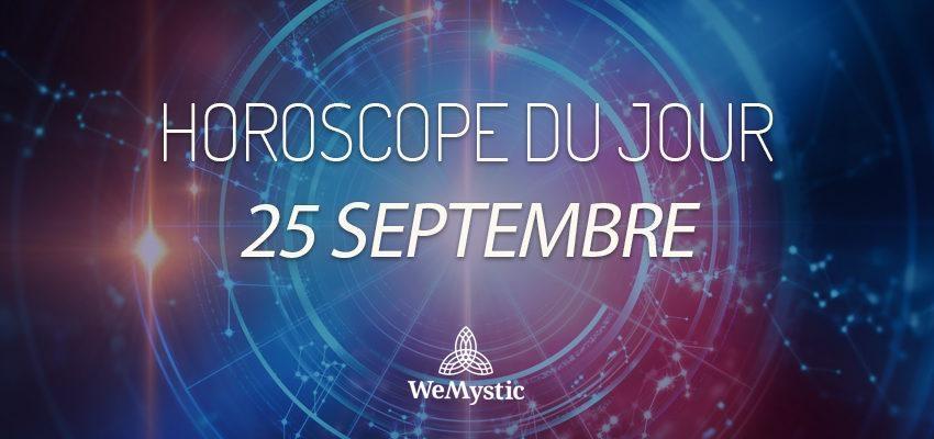 Horoscope du Jour du 25 septembre 2017
