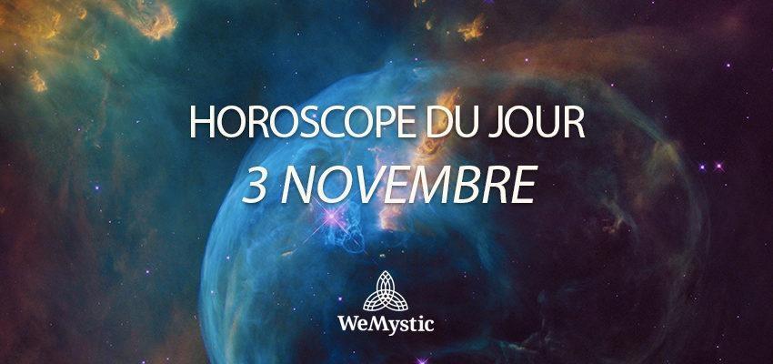 Horoscope du Jour du 3 novembre 2018