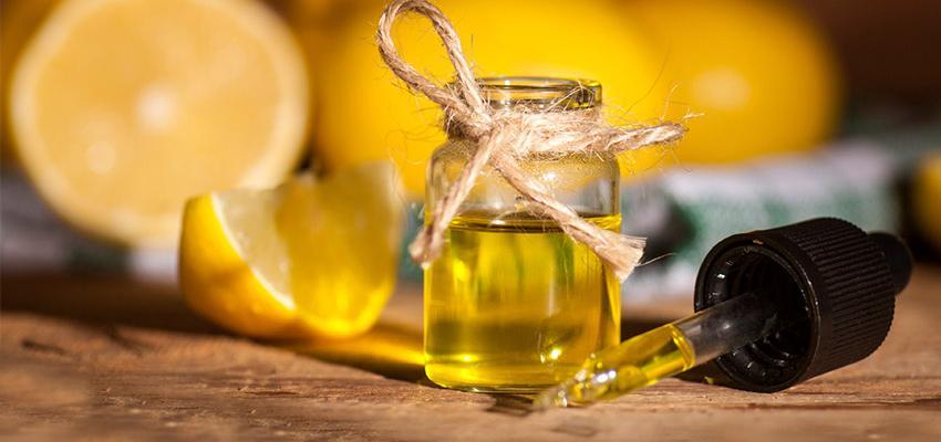 L'huile essentielle au citron