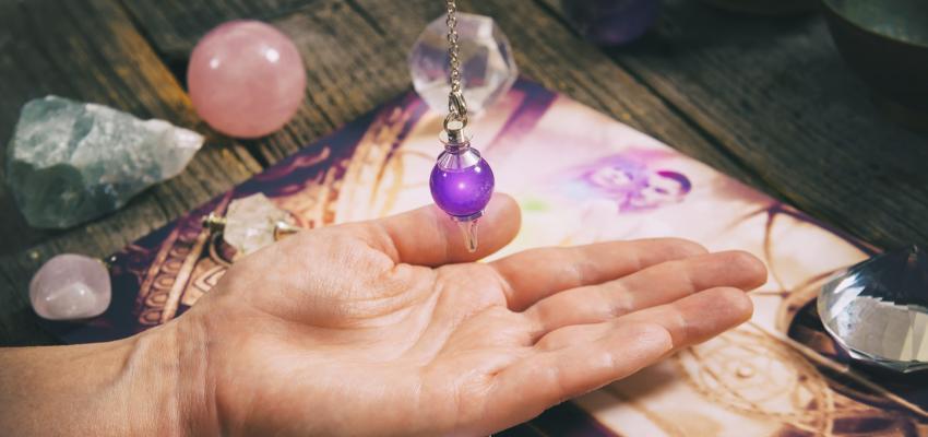 L'initiation au pendule divinatoire est facile !