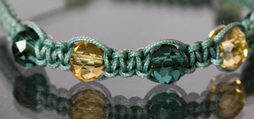 L'amulette shamballa, un bracelet bouddhiste