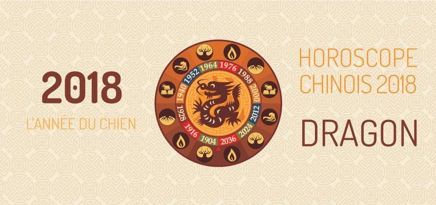 Découvrir l'horoscope chinois 2018 du Dragon