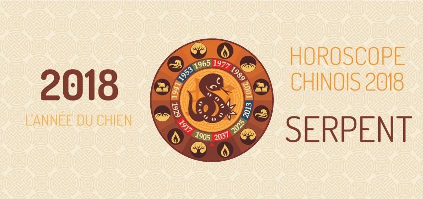 Découvrir l'horoscope chinois 2018 du Serpent