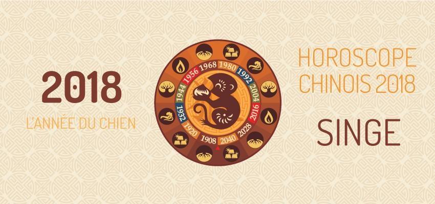 Découvrir l'horoscope chinois 2018 Singe